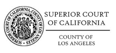 Superior Court of CA, County of Los Angeles Logo